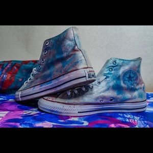 Cotton Candy Custom Converse